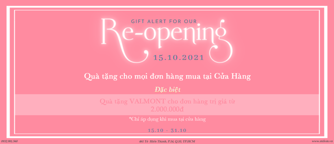 MILEM | Re-opening