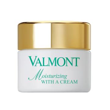 VALMONT Moisturizing With A Cream - Kem dưỡng ẩm cho da mất nước image 0